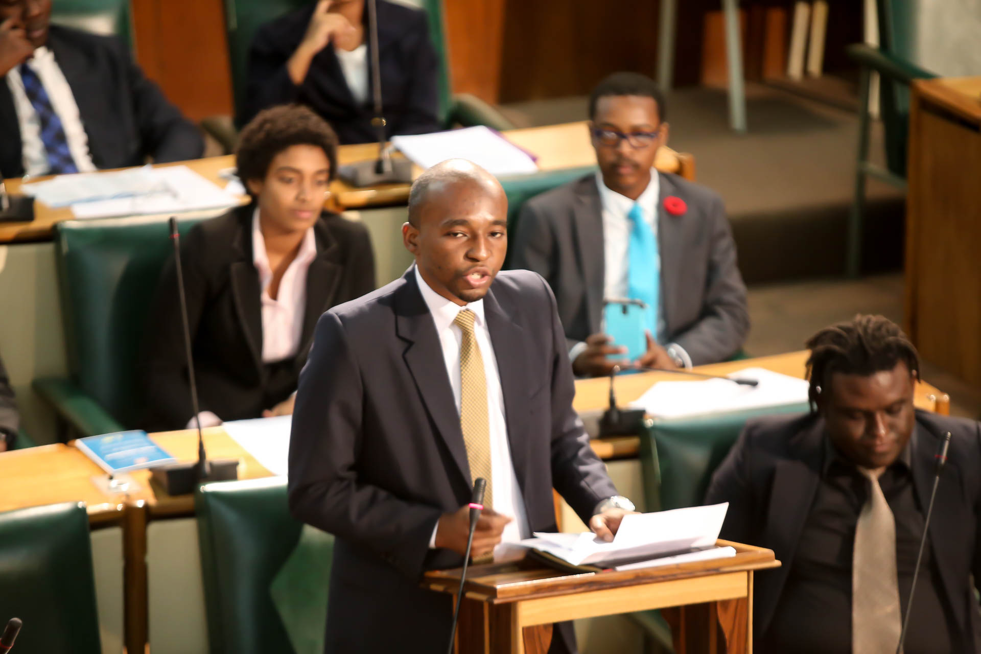 2016 Sitting - National Youth Parliament, Jamaica (102)