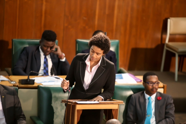 2016 Sitting - National Youth Parliament, Jamaica (106)