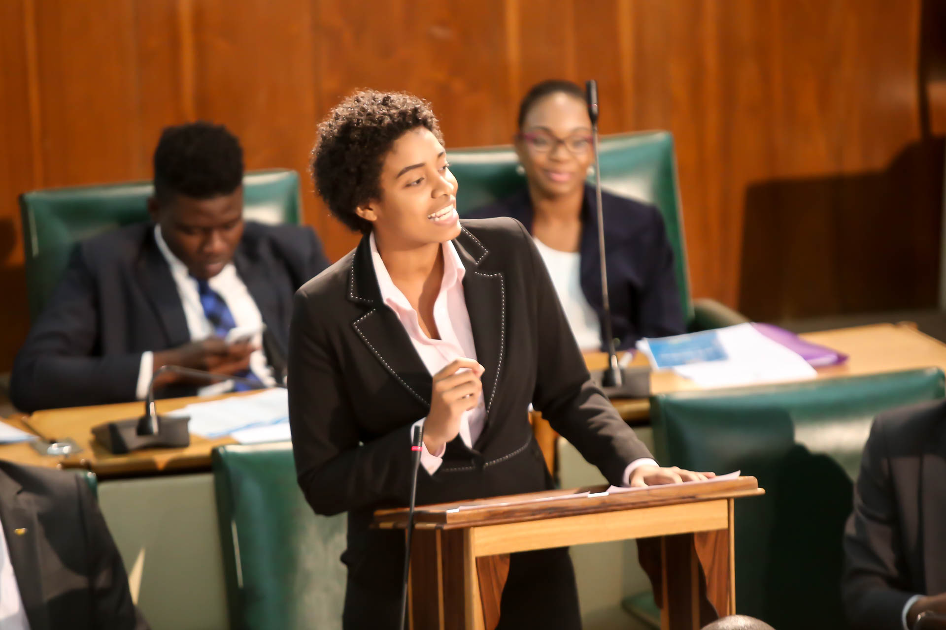 2016 Sitting - National Youth Parliament, Jamaica (107)