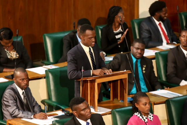2016 Sitting - National Youth Parliament, Jamaica (134)