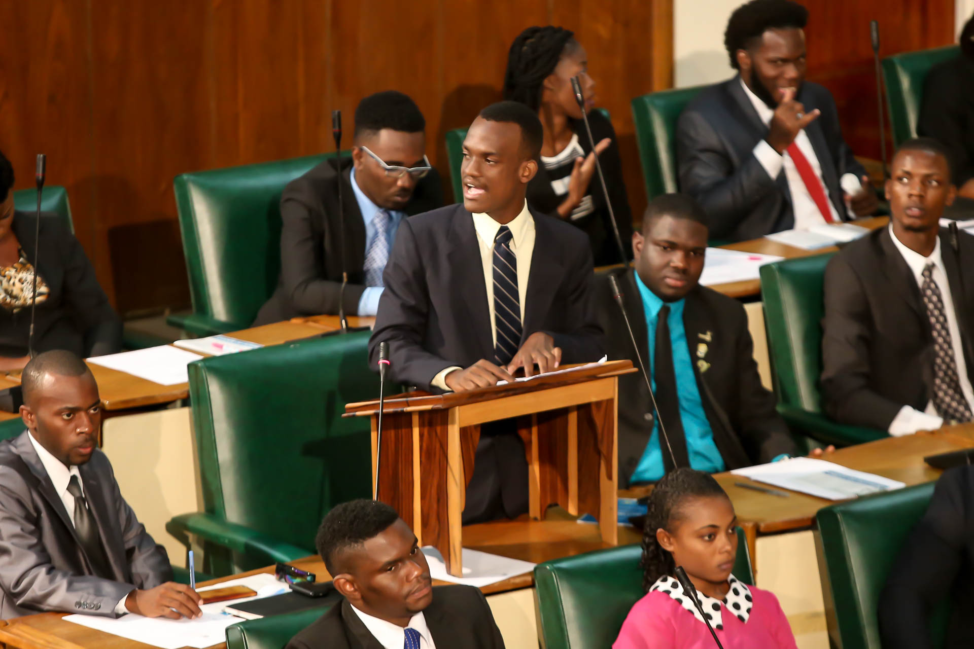 2016 Sitting - National Youth Parliament, Jamaica (135)