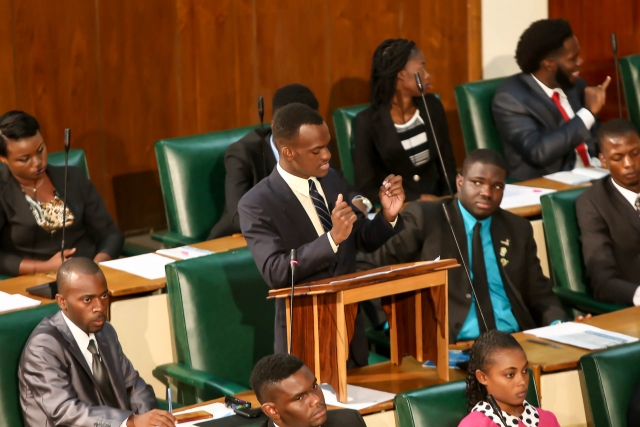 2016 Sitting - National Youth Parliament, Jamaica (136)