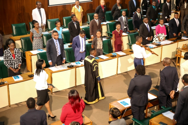 2016 Sitting - National Youth Parliament, Jamaica (50)