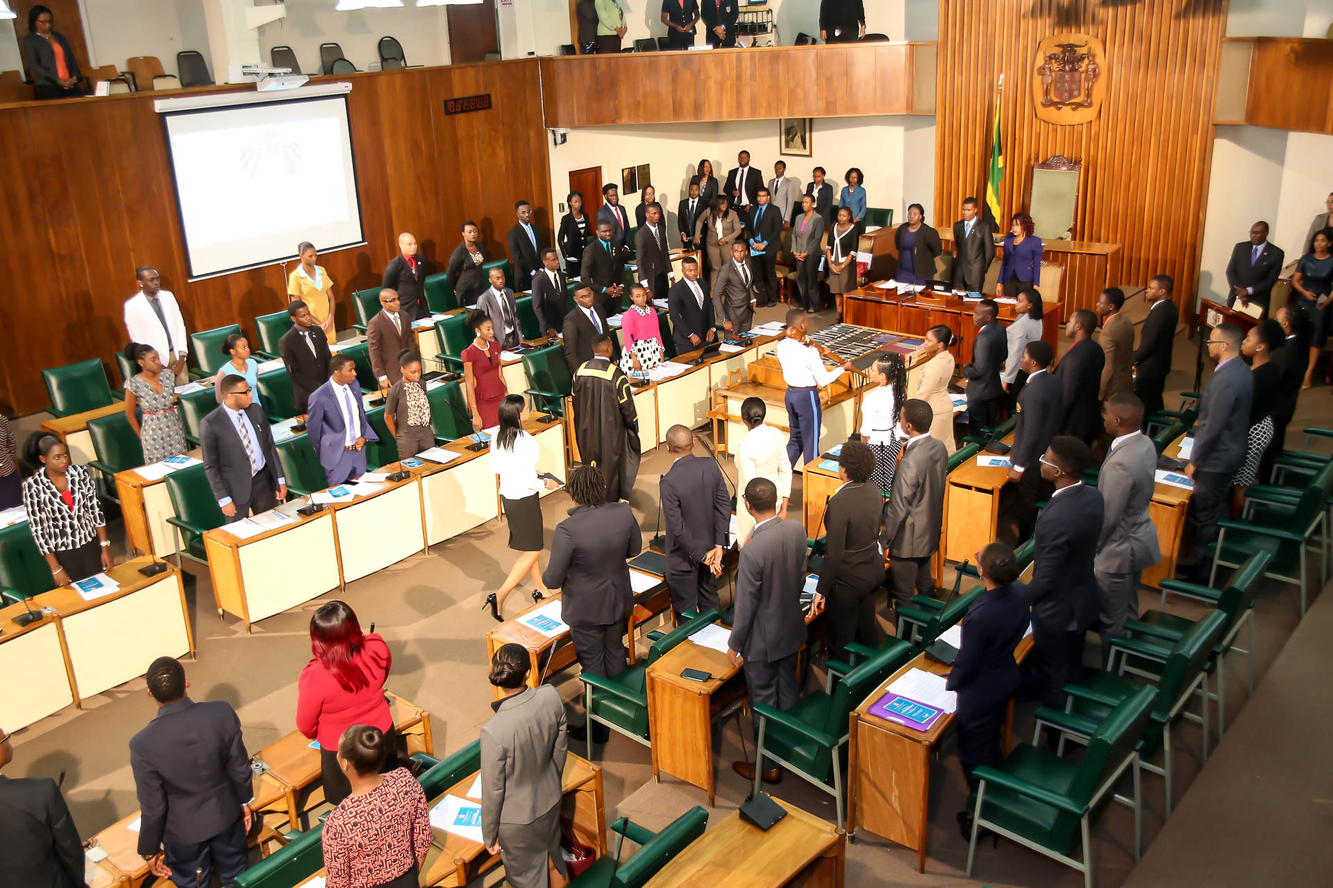 2016 Sitting - National Youth Parliament, Jamaica (51)