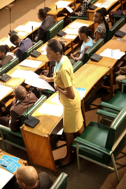 2016 Sitting - National Youth Parliament, Jamaica (68)