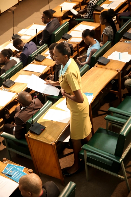2016 Sitting - National Youth Parliament, Jamaica (69)
