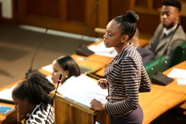 2016 Sitting - National Youth Parliament, Jamaica (82)