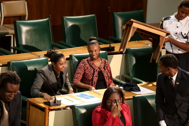 2016 Sitting - National Youth Parliament, Jamaica (86)