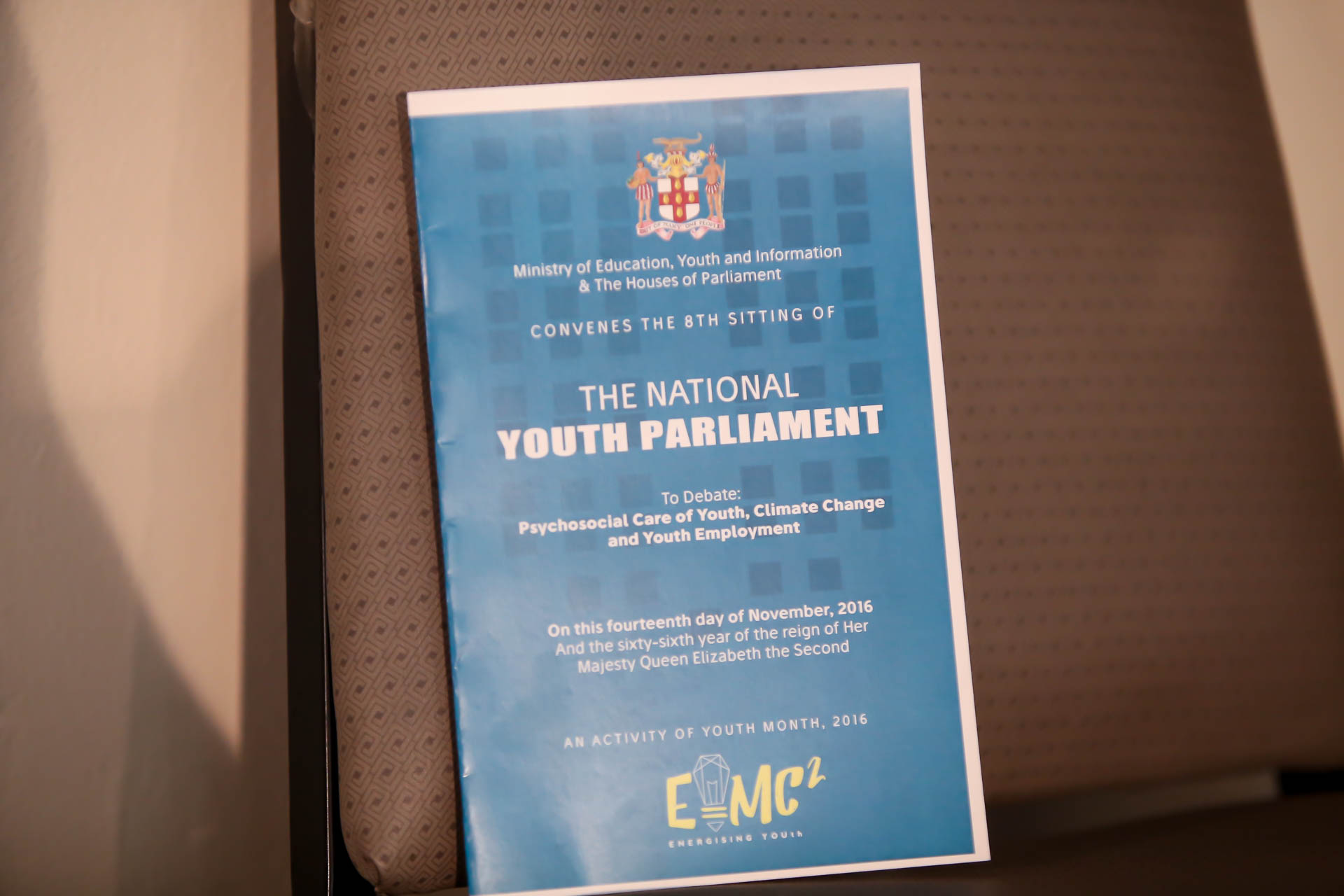 2016 Sitting - National Youth Parliament, Jamaica (95)