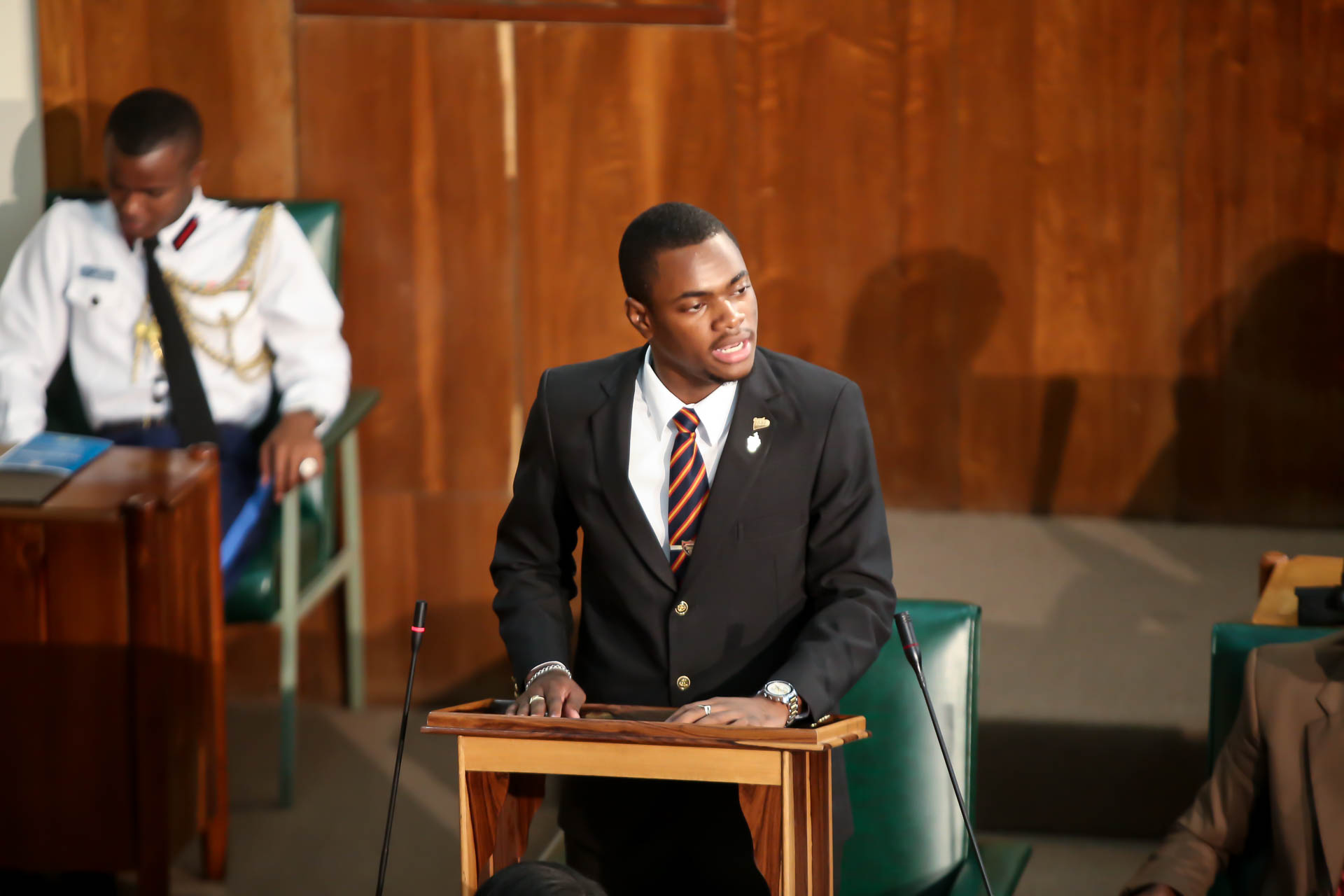 2016 Sitting - National Youth Parliament, Jamaica (96)
