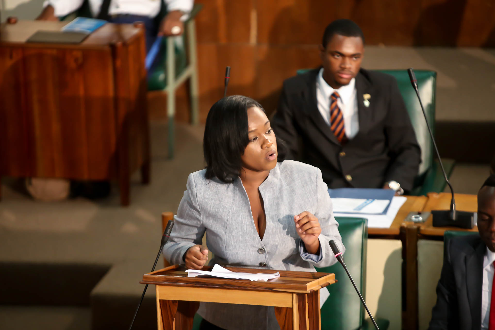 2016 Sitting - National Youth Parliament, Jamaica (98)