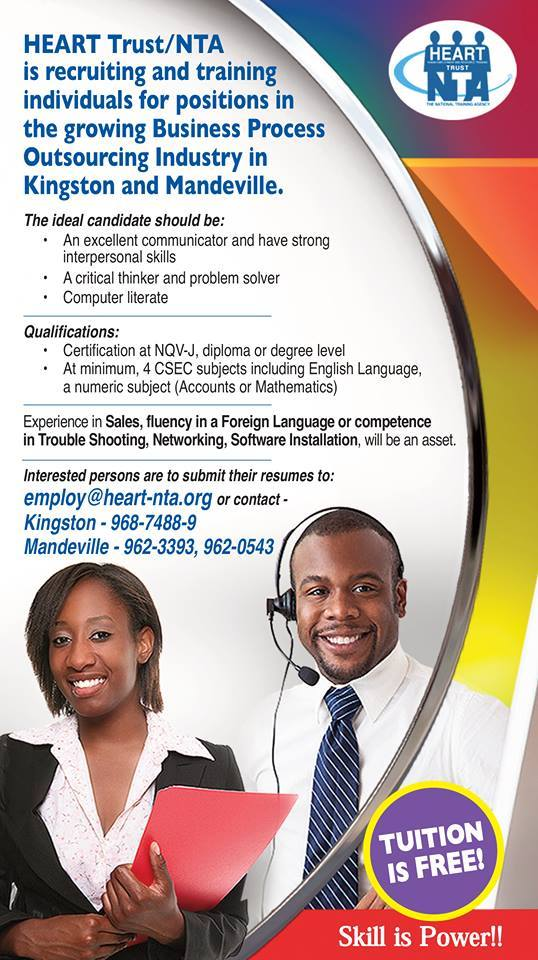 Jobs in mandeville jamaica